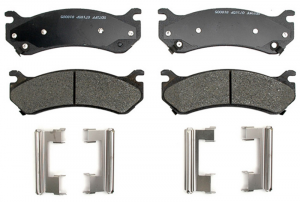 Brakes & Braking System - Pads & Calipers - AC Delco - ACDelco 17D785MHF1 Semi-Metallic Rear Brake Pad Set 01-10 SRW 2500/3500