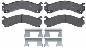Brakes & Braking System - Pads & Calipers - AC Delco - ACDelco 17D909MH Semi-Metallic Rear Brake Pad Set 01-10 DRW 2500/3500