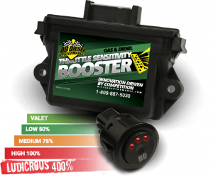 BD Diesel - BD 1057837 Duramax Throttle Sensitivity Booster w/Switch LMM/LML/L5P 2008-2019 - Image 1