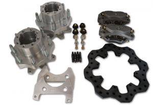 Innovative Machining Solutions - IMS Lightweight Wilwood Rear Hub & Brake Kit 01-10 Duramax AAM 11.5