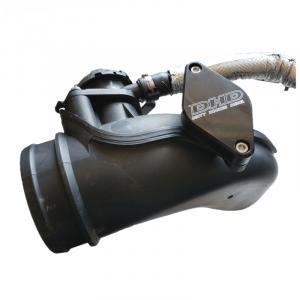 PCV Re-Route Kits - Dirty Hooker Diesel - DHD 101-287 LML Duramax Turbo Inlet Resonator Delete Plate 2011-2016