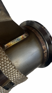 "Dirty Hooker Diesel - DHD 300-327 3"" Stainless Tube Emission Friendly LML Duramax Downpipe 2011-15 - Image 2"