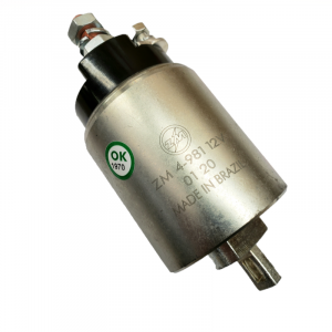 Hitachi - ZM 245-44063 Replacement Starter Solenoid for Hitachi Starter Chevy GMC Duramax Diesel 01-10 6.6L