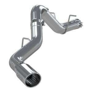 "MBRP - MBRP S6059AL 2020 Chevy/GMC Duramax L5P 4"" Filter Back Exhaust System"