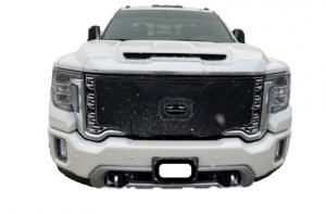 Exterior - Winter Grill Covers - GM - GM 84789271 GMC Winter Front Grill Cover L5P Duramax 2020+ Denali SLT SLE