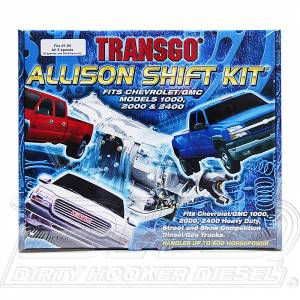 Transmission - Shift Kits - TransGo - TransGo Allison-SK Allison Shift Kit 2001-2005 5-Speed Models Only