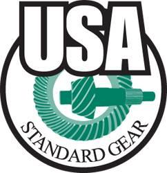 """Axles & Axle Bearings - Axles - Blank - USA Standard Gear - 4340 Blank Chrome-Moly Axle for D60, 38"""""""